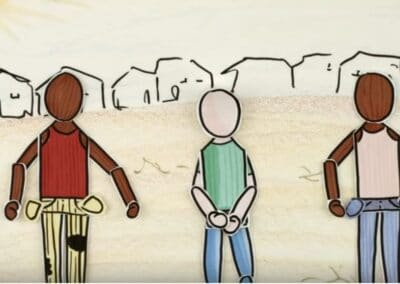 Whiteboard animation about PAH's programme in Somalia