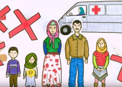 Animation about the situation in Syria