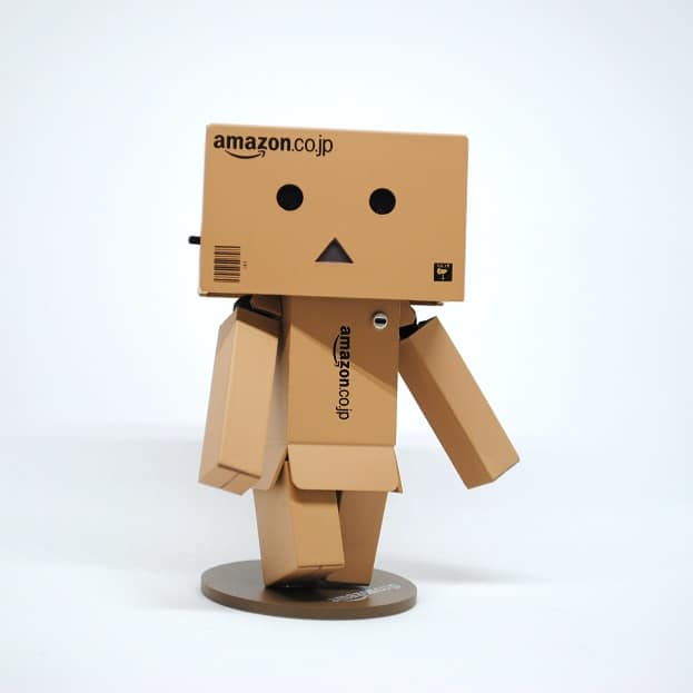 robot of boxes
